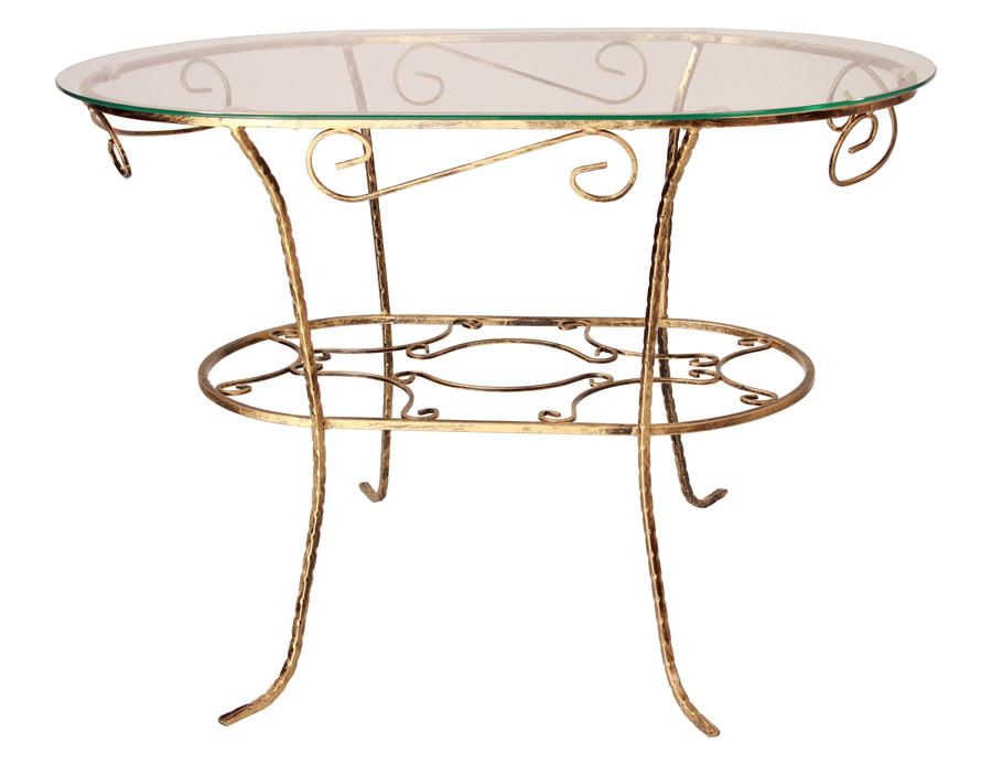 Konferenční stolek Ovál kov